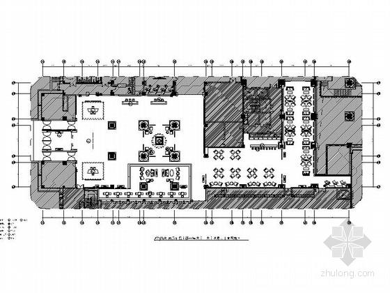 [西藏]超大气西部民族风情酒店大堂及大堂吧施工图(含效果图)