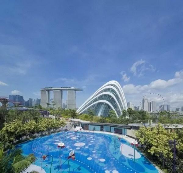 新加坡滨海公园儿童游乐场
