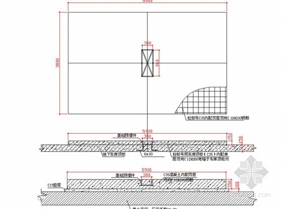 [安徽]框剪结构住宅小区升降机工程专项施工方案(50页 基础附图)