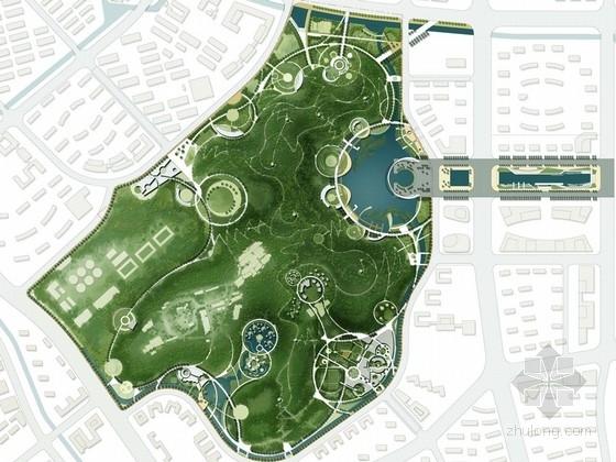 [福州]生态休闲现代综合公园景观规划方案