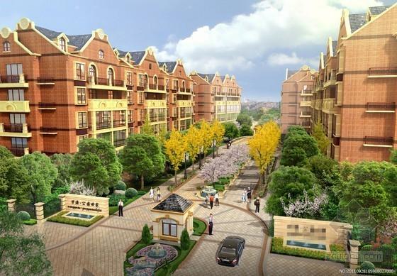 [安徽]三栋小区居民楼建设安装工程预算书(全套图纸 软件文件)