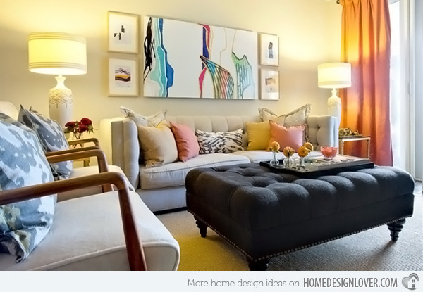 20个时尚的客厅装修设计案例_8
