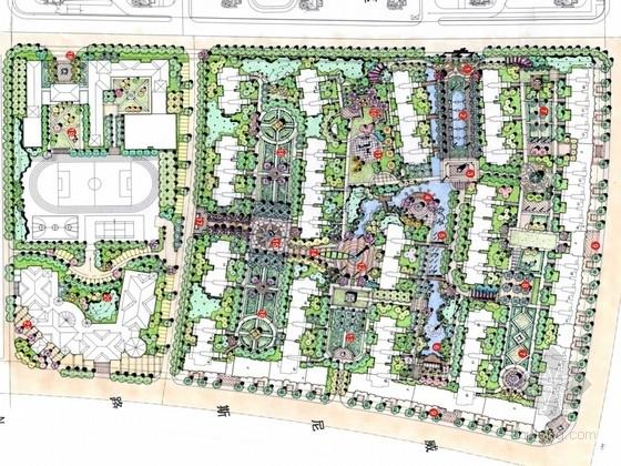 [南京]现代滨水城市居住区规划设计方案