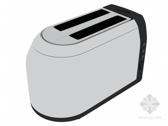 简单烤面包机3D模型下载
