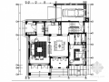 [江苏]高档欧式古典风格两层别墅样板房室内装修施工图(含高清效果图和概念方案)