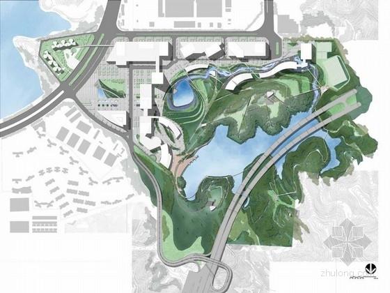 [深圳]城市滨水生态休闲湿地公园景观规划设计方案