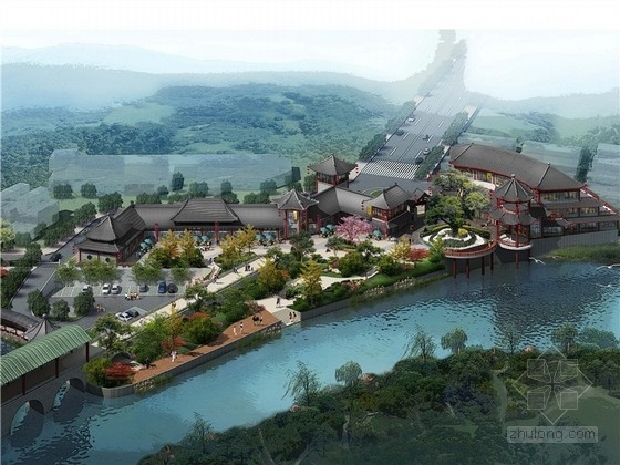 [桂林]景区古建规划设计方案文本(含咖啡区、主题餐厅、游客服务中心等)