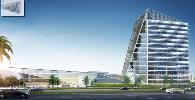 """[海南]""""产城融合""""生态海洋高新技术产业园区城市景观规划设计方案_4"""