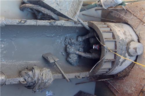 [黑龙江]哈尔滨恒大名都污水顶管工程施工组织设计