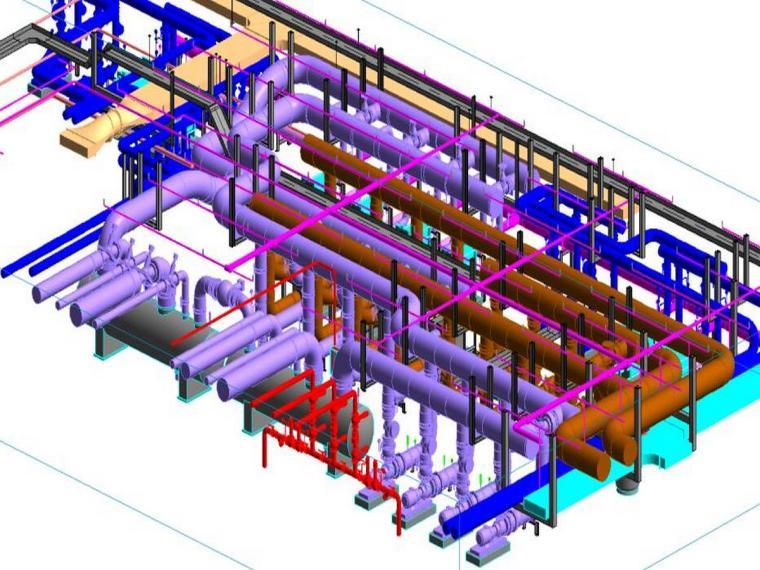 inventor管道预制资料下载-BIM在MEP构件预制加工及安装中的应用