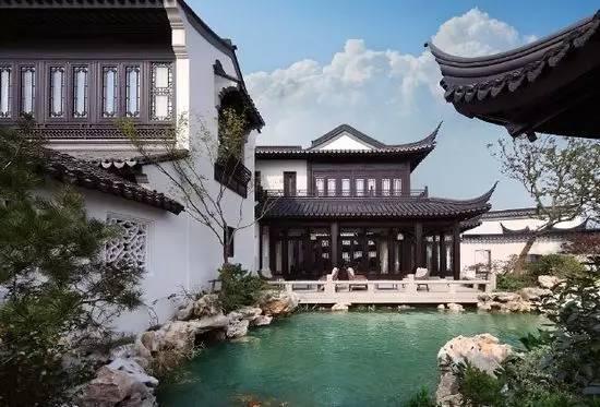 中式住宅景观 国人的田园梦_8