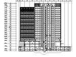 [天津]16年最新高层服务型办公楼建筑施工图(地下车库及人防)