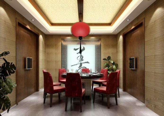 中式火锅店装修(含效果图、CAD施工图、3D模型带灯光材质)_9