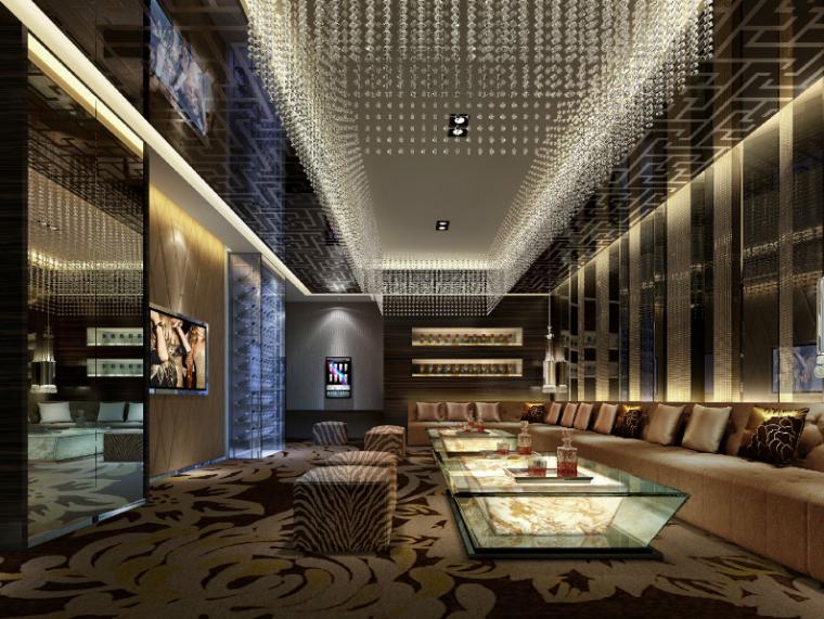 【重庆】48000平方酒店设计施工图(附效果图)_5