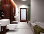 现代卫浴间3D模型下载
