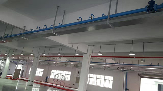 建筑机电安装管线排布