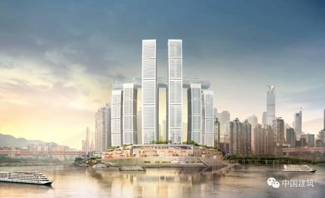 """250米高空如何智造300米""""横版摩天大楼"""",全程动图展现建造过程"""