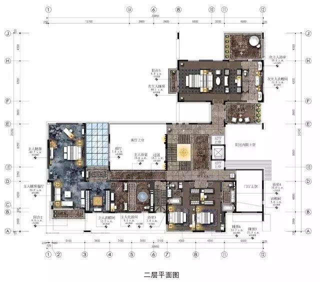 室内设计必学技能:彩色平面图PS教程_1