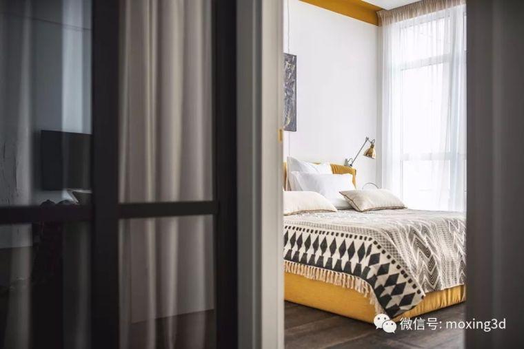 色彩灵动的北欧简约公寓,无可挑剔的美_12