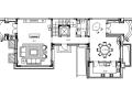 [上海]中式别墅样板间住宅室内设计方案(含实景图)