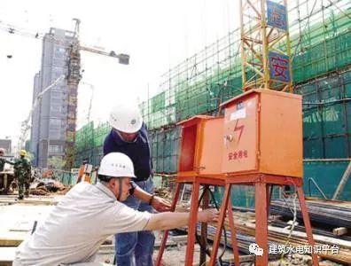 在我们建筑工程中,施工场地临时用电接地现场的做法!