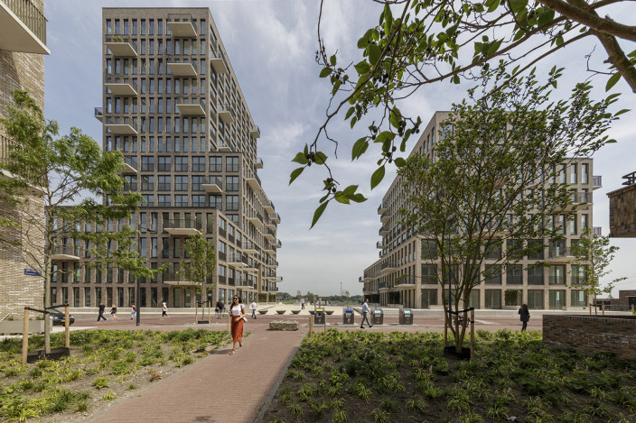 荷兰ZeeburgerIsland住宅综合体-4