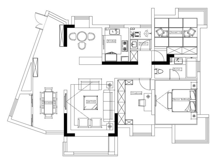 90后妹子爆改80㎡小房子,只要装修做的好比多买10㎡都合适
