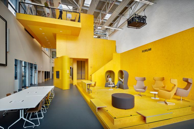 荷兰代尔夫特理工大学教学实验室