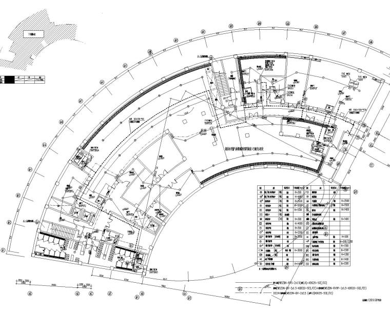 嘉定精品酒店电气施工图(10kv/0.4kv变配电,防雷与接地,二次原理图)