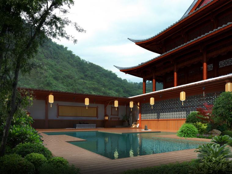 日式禅宗庭园结合禅宗美学设计案例——永福寺_17