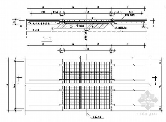 2×8m空心板桥桥面连续构造节点详图设计