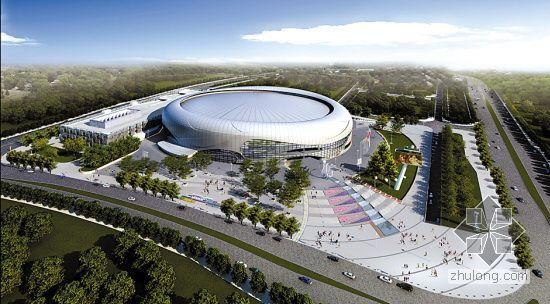 广州某体育馆幕墙钢结构施工组织设计