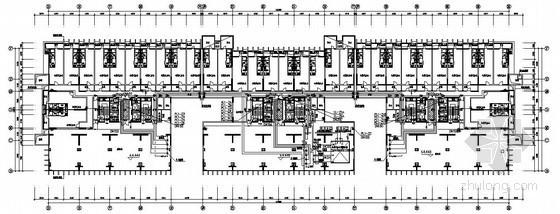 [广东]某商业中心给排水设计施工图纸