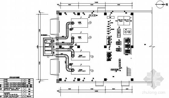 武汉某工业园锅炉设计图纸