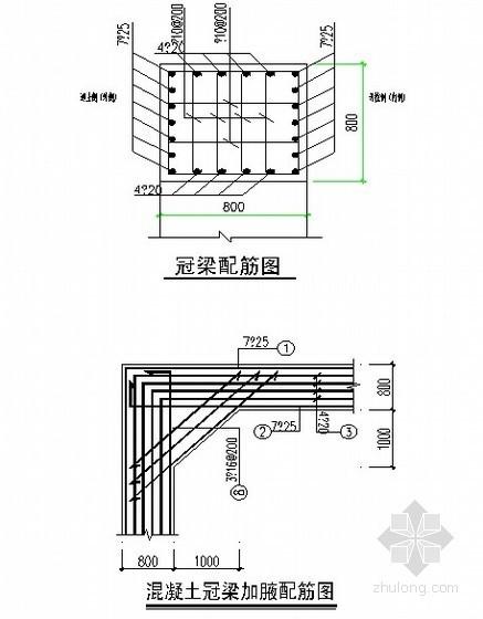 深基坑围护结构冠梁施工技术交底