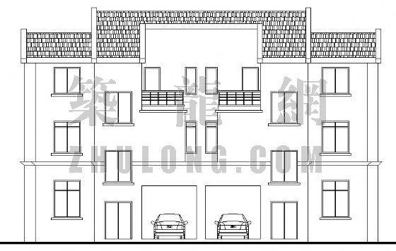 小康农居建筑设计方案3-2