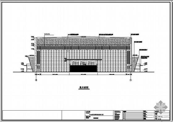 某体育馆幕墙结构设计图