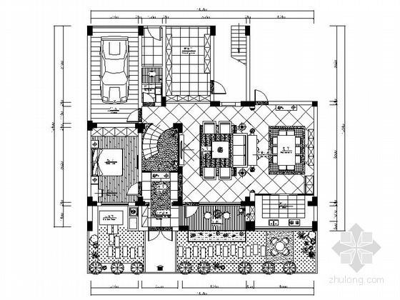 [江西]贵气乡村双层别墅室内装修图(含效果)