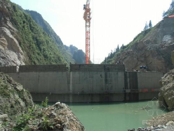 [重庆]水电站大坝总体工程施工组织设计