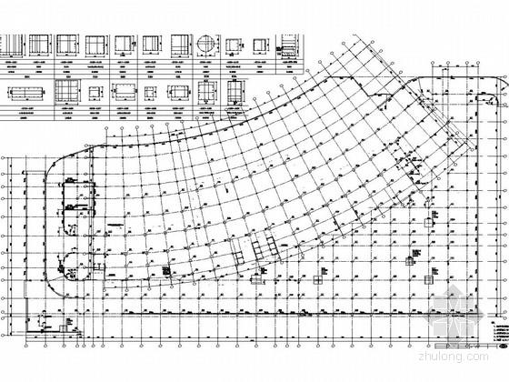 [浙江]16层框架-抗震墙超五星级酒店结构施工图
