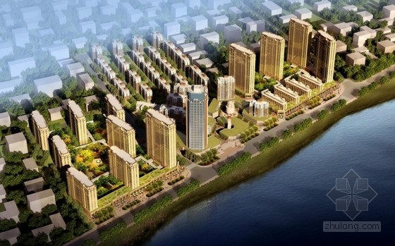 [湖北]现代风格住宅区设计规划方案文本