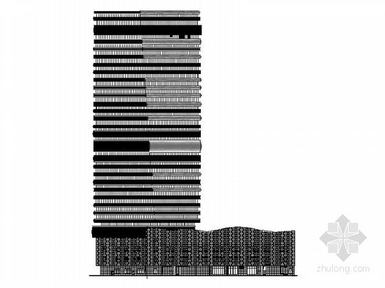 [武汉]超高层现代化五星级酒店建筑施工图