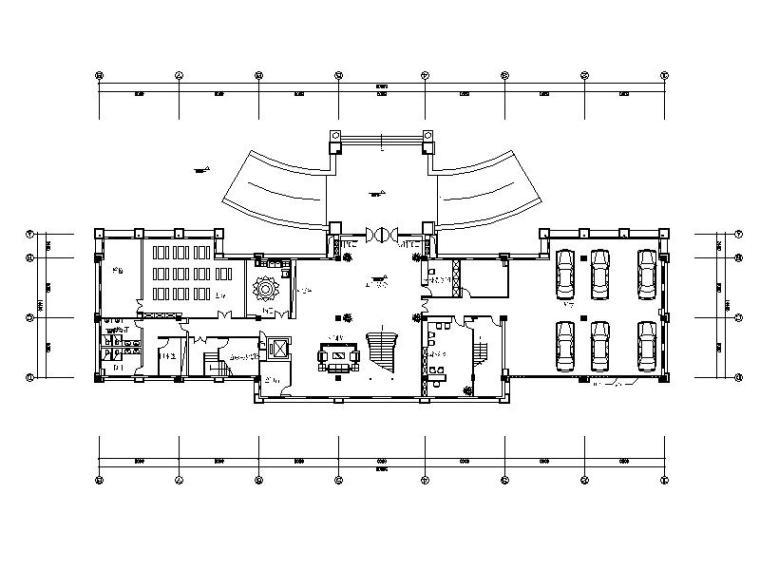 [厦门]豪华舒适6层独栋独家办公楼室内设计施工图