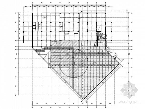 人防地下室车库结构施工图