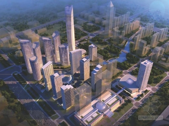 [江苏]商业区规划及单体设计方案文本(美国知名建筑设计事务所)