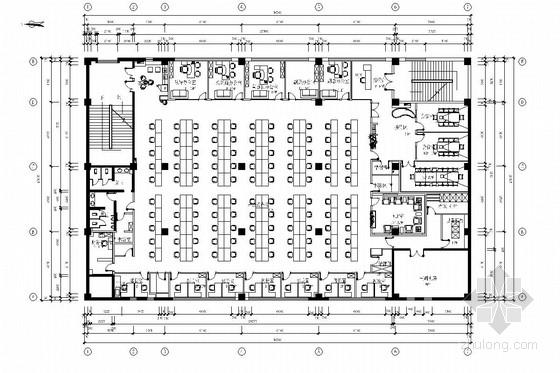 [北京]经济开发区新能源汽车有限公司办公室施工图