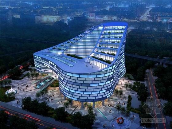 [东莞]超现代绿色商会综合大厦设计方案文本