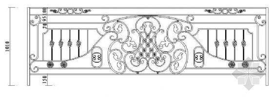 欧式栏杆详图47
