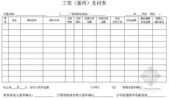 民工工资发放管理措施(2011年)