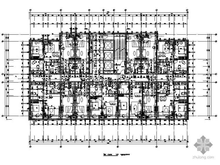 某6号小户型样板房室内装修图(含效果)